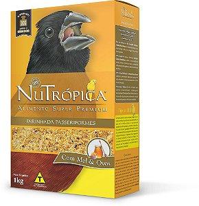 NuTrópica Curió Farinhada Manutenção Pássaros Nativos - 1kg