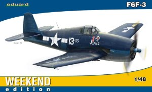 Grumman F6F-3 Eduard Weekend Edition 1/48