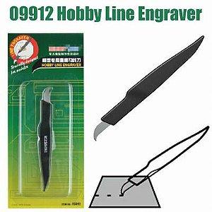 Gravador de Linha de Baixo Relevo (Scriber Line Engraver) Master Tools