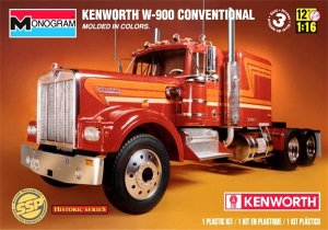 Kenworth W-900 Conventional SSP 1/16 Monogram Historic Series