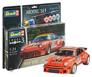 Model Set Porsche 934 RSR Jagermeister 1/24 Revell
