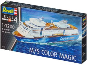 Cruzeiro M/S Color Magic 1/1200 Revell
