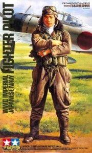 WWII Imperial Japanese Navy Fighter Pilot 1/16 Tamiya