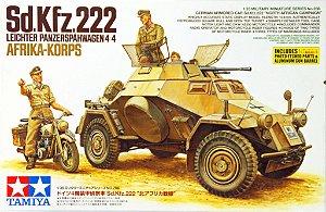 Blindado Alemão Sd.Kfz.222 1/35 Tamiya