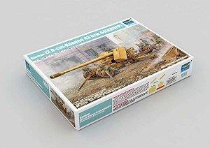 Canhão Anti Tanque 12.8cm Kanone 43 bzw.44 (KRUPP) Trumpeter 1/35