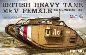 Tank Inglês Mk V Female 1/35 Meng