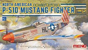 Caça P-51D Mustang 1/48 Meng