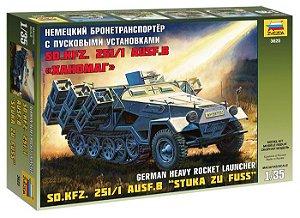 """SD.KFZ.251/1 AUSF.B """"STUKA ZU FUSS"""" 1/35 Zvezda"""