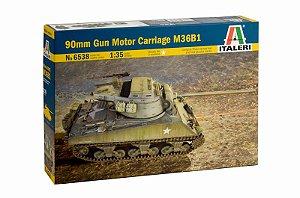 Caça Tanque Americano 90mm Gun Motor Carriage M36B1 1/35 Italeri