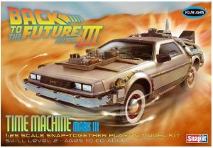 De Volta Para O Futuro Time Machine Mark III 1/25 AMT