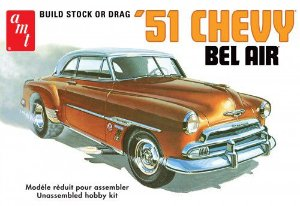 Chevy Bel Air 1951 1/25 AMT
