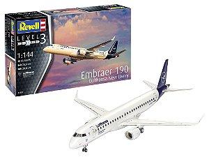 Embraer EMB-190 Lufhansa 1/144 Revell