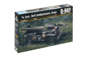 Jeep Willys do Dia D 1/35 Italeri