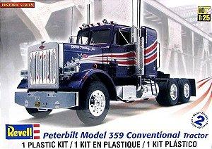 Caminhão Peterbilt Model 359 Conventional Tractor 1/24 Revell