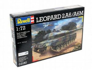 Tanque Leopard 2 A6/A6M Revell