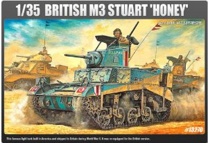 BRITISH M3 STUART HONEY 1/35 Academy