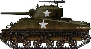 Tanque Sherman M4A3 Academy 1/35 MONTADO