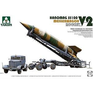 Foguete V2 Com Transporte Hanomag SS100 1/72 Takon