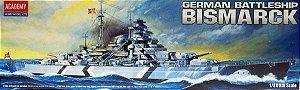 Navio Bismarck 1/800 Academy