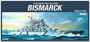 Encouraçado Bismarck 1/350 Academy