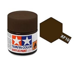 Tinta Marron Fosca XF-10 Tamiya 10ml