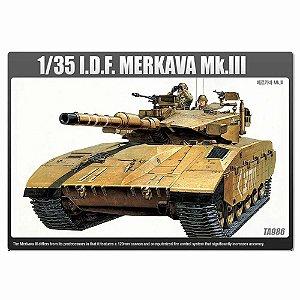 Tanque de Guerra Israelense Merkava Mk.III 1/35 Academy