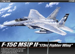 Caça F-15C Eagle da Força Aérea Americana 1/72 da Academy