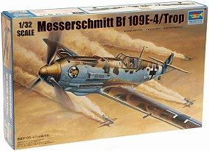 Caça Messerchmit Bf-109 E4 1/32 Trumpeter Montado