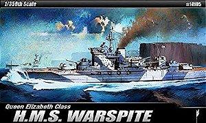 Couraçado H.M.S. Warspite 1/350 Academy Montado