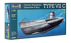 Submarino Alemão U-Boat Tipo VII C 1/350 Revell