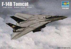 Caça Naval Americano F-14B Tomcat 1/144 Trumpeter