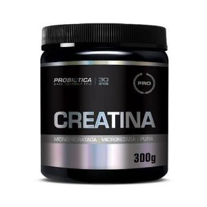 Creatina Probiótica Monohidratada - Pura - 300g