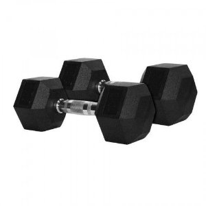 Dumbbell Sextavado Rope Store - 25Kg