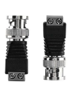 Conector BNC de vídeo macho Intelbras