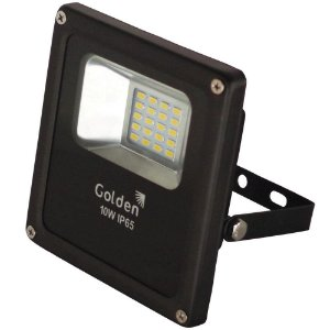 REFLETOR LED FIT ULTRALED 10W LUZ BRANCA BIVOLT IP66