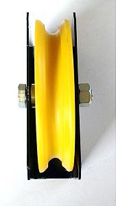 Roldana Com Caixa Para Portão De Correr - 2 1/2 Polegadas Canal U (63 mm)