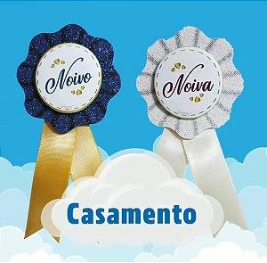 BOTTON COMEMORATIVO CASAMENTO
