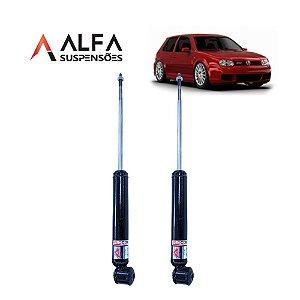 KIT TRASEIRO DE AMORTECEDORES ESPORTIVOS VW GOLF MK4 (1999/2013)