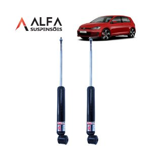 KIT TRASEIRO DE AMORTECEDORES ESPORTIVOS VW GOLF MK7 (2013/...)