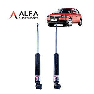 KIT TRASEIRO DE AMORTECEDORES ESPORTIVOS VW GOL G1 a G4 *SEM TELESCOPIO* (1995/2010)