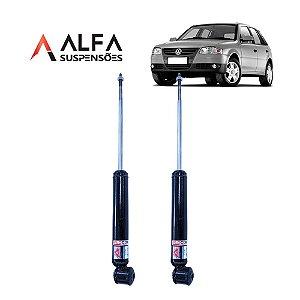 KIT TRASEIRO DE AMORTECEDORES ESPORTIVOS VW GOL G1 a G4 *COM TELESCÓPIO* (1995/2010)