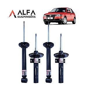 KIT DE AMORTECEDORES ESPORTIVOS VW GOL G1 a G4 *SEM TELESCOPIO* (1995/2010)