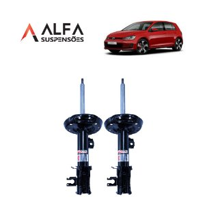 KIT DIANTEIRO DE AMORTECEDORES ESPORTIVOS VW GOLF MK7 (2013/...)