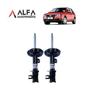 KIT DIANTEIRO DE AMORTECEDORES ESPORTIVOS VW GOL G1 a G4 *SEM TELESCOPIO* (1995/2010)