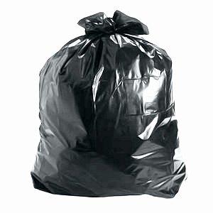 Saco de Lixo 50 Litros Preto
