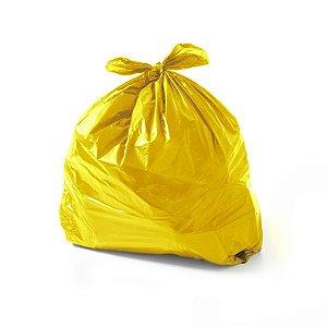 Saco de Lixo 40 Litros Amarelo