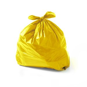 Saco de lixo 60 Litros Amarelo