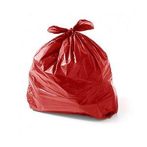 Saco de Lixo 100 Litros Vermelho