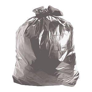 Saco de Lixo 40 Litros Cinza