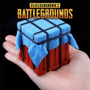 Miniatura caixa de drop playerunknown's battlegrounds
